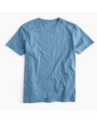 J.Crew - Blue Slim Broken-in T-shirt for Men - Lyst