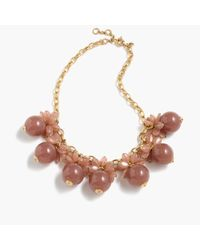J.Crew | Multicolor Blossom Bauble Necklace | Lyst