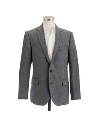 J.Crew | Gray Ludlow Elbow-patch Sportcoat In Colburn English Tweed for Men | Lyst