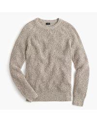 J.Crew | Multicolor Marled Cotton Crewneck Sweater | Lyst