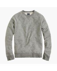 J.Crew | Gray Solid Sweatshirt In Graphite for Men | Lyst