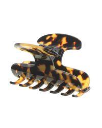 J.Crew | Brown Large Hair Clip In Italian Tortoise | Lyst