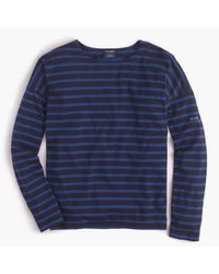 J.Crew | Blue Saint James Slouchy T-shirt | Lyst