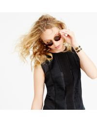J.Crew | Black Cropped Shell | Lyst