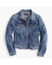 J.Crew | Blue Classic Denim Jacket | Lyst