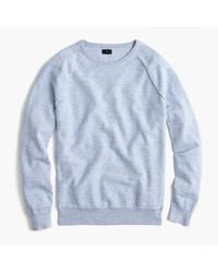 J.Crew - Blue Rugged Cotton Sweater for Men - Lyst