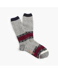 J.Crew | Natural Chup Tahiti Socks | Lyst