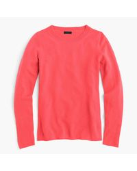 J.Crew | Pink Italian Cashmere Long-sleeve T-shirt for Men | Lyst