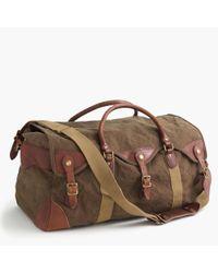 J.Crew | Brown Wallace & Barnes Canvas Weekender Bag | Lyst