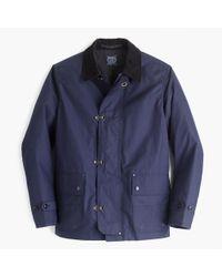 J.Crew | Blue Fireman's Jacket for Men | Lyst