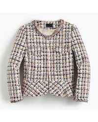 J.Crew | Multicolor Collection Lady Jacket In French Tweed | Lyst