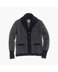J.Crew Blue North Sea Clothing Intrepid Cardigan Sweater for men