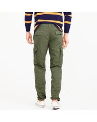 J.Crew - Green 1040 Athletic-fit Cargo Pant for Men - Lyst