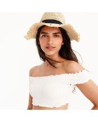 J.Crew White Smocked Off-the-shoulder Bikini Top