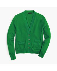 J.Crew - Green Harlow Cardigan Sweater for Men - Lyst