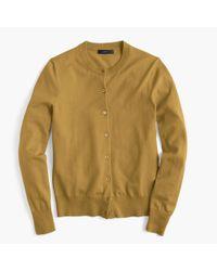 J.Crew Multicolor Cotton Jackie Cardigan Sweater