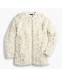 J.Crew | Natural Collection Loop Cardigan Sweater | Lyst