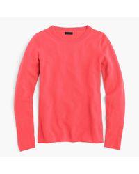 J.Crew - Pink Italian Cashmere Long-sleeve T-shirt for Men - Lyst