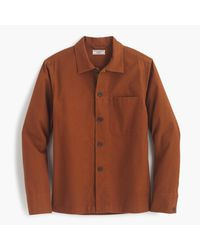 J.Crew | Brown Wallace & Barnes Canvas Chore Coat for Men | Lyst