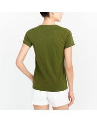 "J.Crew - Green ""made In The Shade ""collector T-shirt - Lyst"