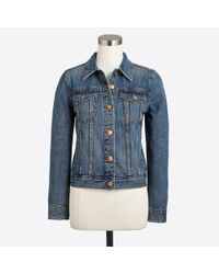 J.Crew Blue Denim Jacket