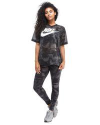 Nike Black Glacier Allover Print T-shirt