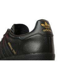Adidas Originals - Black 350 Leather - Lyst