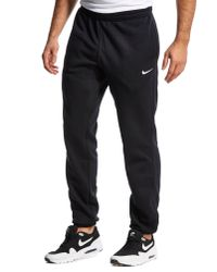 Nike Black Club Swoosh Jogging Pants for men