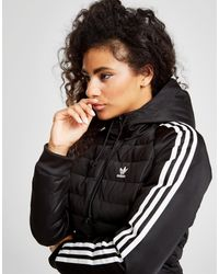 Black Adidas Originals In Jacket Lyst Stripes Padded 3 0O8nkwP