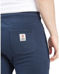 Franklin & Marshall Blue Small Logo Pants for men