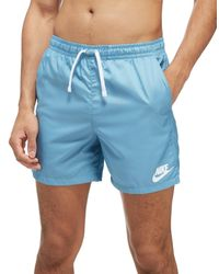 9b408ae0b5 Nike Flow Swim Shorts in Blue for Men - Lyst