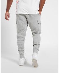 Foundation Cargo Pantaloni Sportivi di Nike in Gray da Uomo