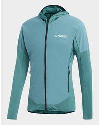Adidas Multicolor Terrex Skyclimb Fleece Jacket for men