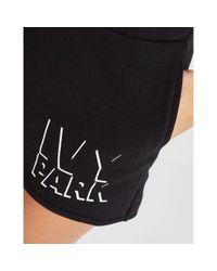 Ivy Park Black Shadow Logo Shorts