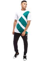 Adidas Originals White Eqt T-shirt for men