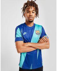 Nike FC Barcelona T-Shirt Herren in Blue für Herren