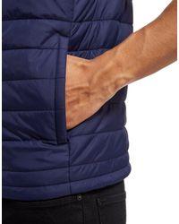 Lacoste - Blue Padded Gilet for Men - Lyst