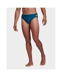 Adidas Originals Blue Badge Fitness Swim Trunks for men