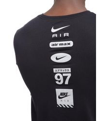 Nike - Black Air T-shirt for Men - Lyst