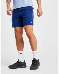 """Short Flex 7"""" Stride Homme Nike pour homme en coloris Blue"""