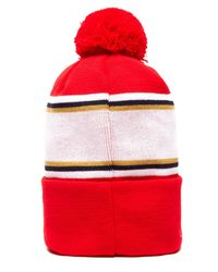 PUMA - Red Arsenal Pom Pom Beanie for Men - Lyst