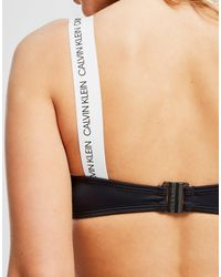 Calvin Klein Black Bandeau Bikini Top
