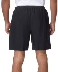 Under Armour Black Escape 7 Inch Solid Shorts for men
