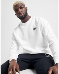 Nike Foundation Sweatshirt Herren in White für Herren