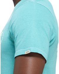 Vans - Blue Original T-shirt for Men - Lyst