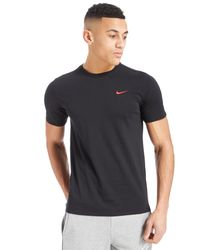 e951b6f1a3f53 Lyst - Nike Foundation T-shirt in Black for Men
