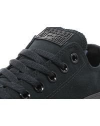 Converse - Black All Star Ox Mono for Men - Lyst
