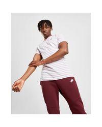 Nike White Stripe T-shirt for men