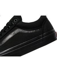 Vans - Black Old Skool for Men - Lyst