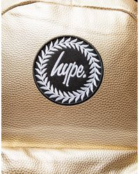 Hype Orange Logo Backpack
